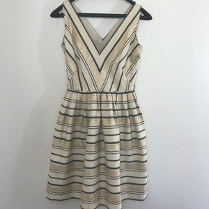 NWT J. Crew V-Neck Flare Dress